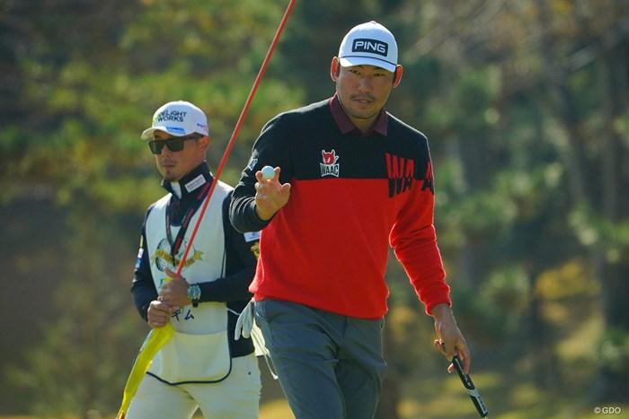 9番、ナイスバーディだったね。 2020年 ゴルフ日本シリーズJTカップ 最終日 チャン・キム