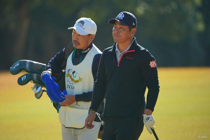 来年も2人で戦って欲しいね。 2020年 ゴルフ日本シリーズJTカップ 最終日 谷原秀人