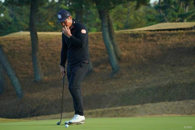2020年 ゴルフ日本シリーズJTカップ 最終日 谷原秀人 18番は3パットのボギーに。