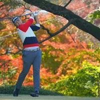 バックナインで後退してしまった。8位タイフィニッシュ。 2020年 ゴルフ日本シリーズJTカップ 最終日 出水田大二郎