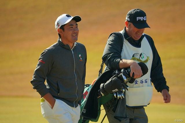 2020年 ゴルフ日本シリーズJTカップ 最終日 金谷拓実 来年もこのナイスコンビかな?
