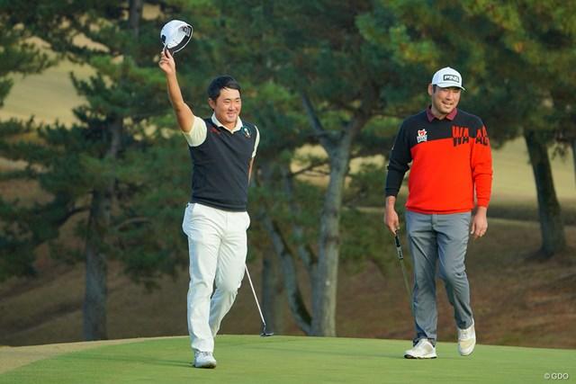 2020年 ゴルフ日本シリーズJTカップ 4日目 金谷拓実 最終18番のパーセーブでも見せ場を作った金谷拓実。ツアーに新しい風を吹き込んだ