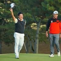 最終18番のパーセーブでも見せ場を作った金谷拓実。ツアーに新しい風を吹き込んだ 2020年 ゴルフ日本シリーズJTカップ 4日目 金谷拓実
