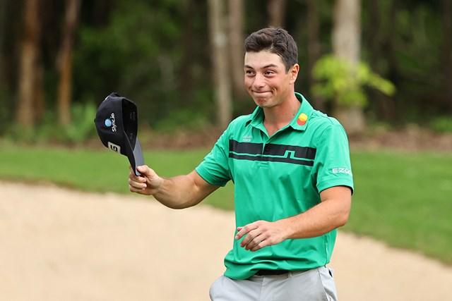 2021年 マヤコバゴルフクラシック 4日目 ビクトル・ホブラン 今季初勝利のビクトル・ホブランが世界15位に浮上(Hector Vivas/Getty Images)