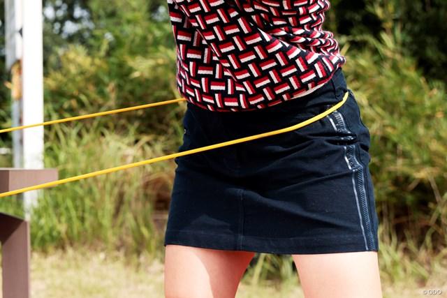 スタート前にやっておくべき練習法 森美穂 左の股関節と右足の内転筋に意識が入る