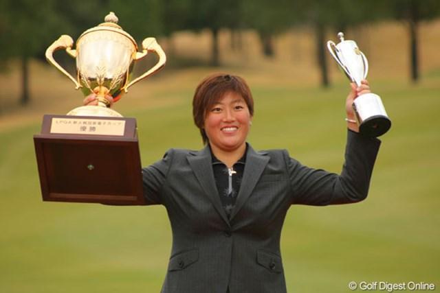 2011年 LPGA新人戦 加賀電子カップ 最終日 工藤遥加 当時19歳の工藤遥加。