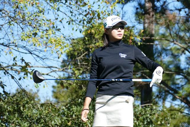 2020年 全米女子オープン 事前 渋野日向子 渋野日向子は予選ラウンドで前年覇者と同組となった