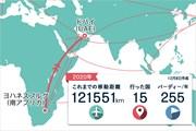 2020年 DPワールド ツアー選手権 ドバイ 事前 川村昌弘マップ