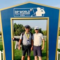 ついにやってきました。欧州ツアーのシーズン最終戦に出場します 2020年 DPワールド ツアー選手権 ドバイ 事前 川村昌弘