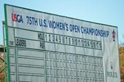 2020年 全米女子オープン 初日 リーダーボード