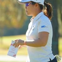 今日はがまんのゴルフ。 2020年 全米女子オープン 初日 畑岡奈紗