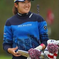 粘りのゴルフで予選通過に。36位タイです。 2020年 全米女子オープン 2日目 稲見萌寧