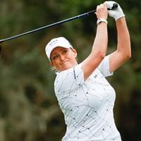 出場も危ぶまれていたクリスティ・カーが貫録のラウンド(Jeff Haynes/USGA) 2020年 全米女子オープン 2日目 クリスティ・カー