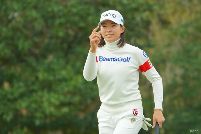 2020年 全米女子オープン 3日目 渋野日向子 渋野日向子は「74」。1打差で首位を守り最終日を迎える