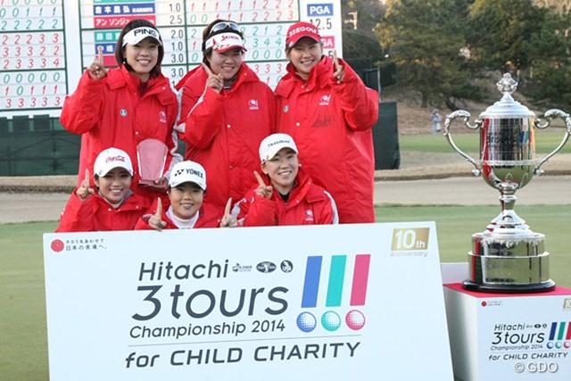 2020年 LPGA LPGAが3年ぶり3度目の優勝(写真は2014年Hitachi 3Tours Championship)