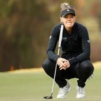 エイミー・オルソンは悲痛を乗り越えて最終ラウンドへ※写真は大会3日目(Chris Keane/USGA) 2020年 全米女子オープン  3日目 エイミー・オルソン