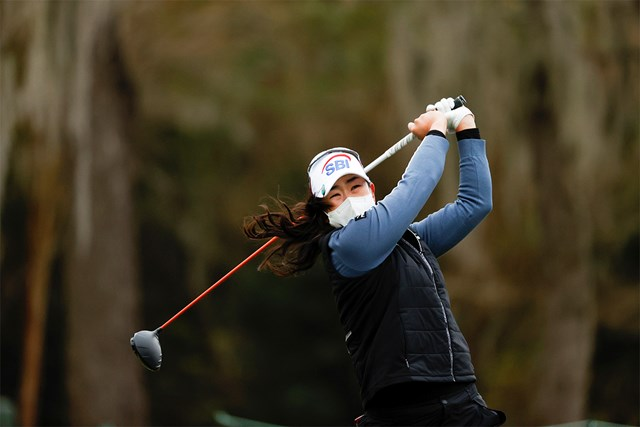2020年 全米女子オープン  最終日 キム・アリム 大会初出場のキム・アリムが逆転劇を演じた(Jeff Haynes/USGA)