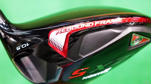 スリクソン ZX5 ドライバーを西川みさとが試打「力感なくても打てる」 メインテクノロジーとなる反発性能をアップさせた「REBOUND FRAME(リバウンドフレーム)」
