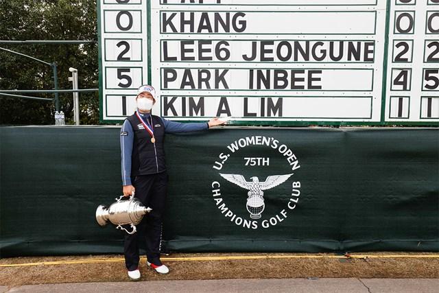 2020年 全米除しオープン 最終日 キム・アリム 韓国勢がまた勝った(Jeff Haynes/USGA)