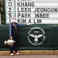 韓国勢がまた勝った(Jeff Haynes/USGA) 2020年 全米女子オープン 最終日 キム・アリム
