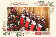 2020年 テーラーメイド クリスマスカード