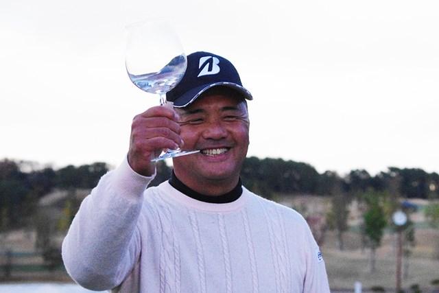寺西明 賞金王には毎年バカラのグラスが贈られるそうです