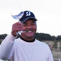賞金王には毎年バカラのグラスが贈られるそうです 寺西明