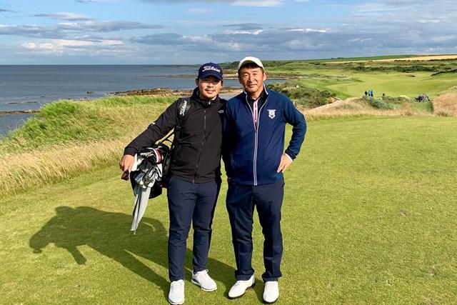 川村昌弘 父とスコットランドでゴルフ。名門コースを巡りました