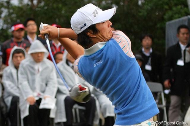 2020年 石川遼 「上手く足を使えた」と納得の表情を見せた石川遼(写真は2011年ドラコン日本一決定戦)