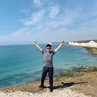 旅もソーシャルディスタンスを守りながら。夏場に英国の海岸で 川村昌弘
