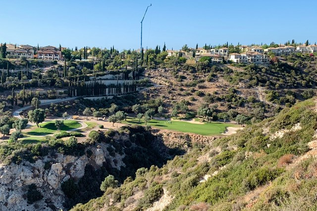 川村昌弘 今年初めて訪れたキプロスのゴルフ場。優勝争いに一歩届かなかった