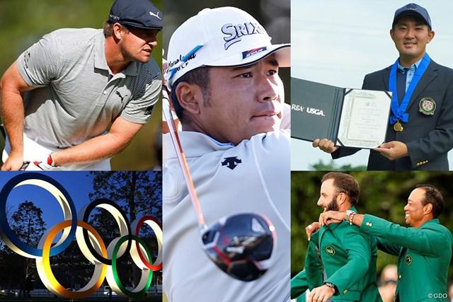 男子ゴルフ 2020年 10大ニュース 2020年の男子ゴルフ界を振り返ります