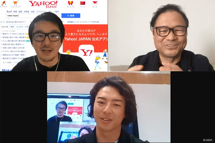 ヤフーの小林貴樹氏(左上)、Twitter Japanの笹本裕社長(右上)、石川遼 2020年 小林貴樹 笹本裕 石川遼