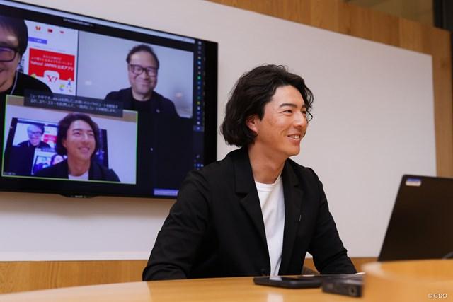 2020年 石川遼 三者対談はオンラインで行った