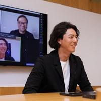 三者対談はオンラインで行った 2020年 石川遼