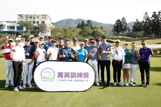 クリニック ナショナルゴルフCCで行われたC.T.パンのクリニック(提供:ナショナルゴルフCC)
