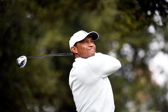 2021年 ZOZOチャンピオンシップ@シャーウッド  最終日 タイガー・ウッズ 45歳を迎えるタイガー・ウッズ(Kevork Djansezian/PGA TOUR via Getty Images)