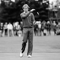 往年の名選手、ジョニー・ミラー。日本では1974年の「第1回ダンロップフェニックストーナメント」覇者として名を刻んでいる※写真は1981年「ライダーカップ」(Peter Dazeley/Getty Images) ジョニー・ミラー