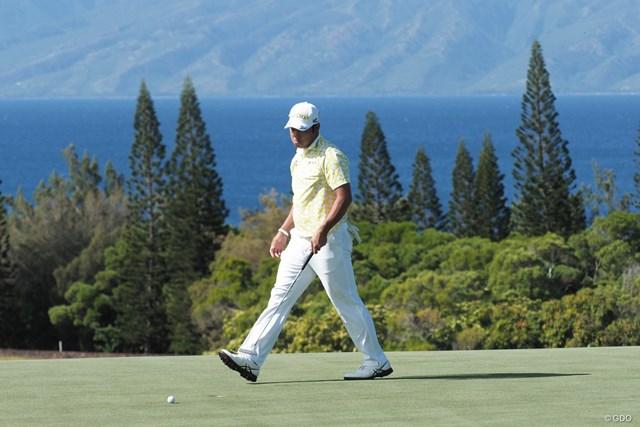 2021年 セントリートーナメントofチャンピオンズ 初日 松山英樹 この日はグリーン上で苦戦