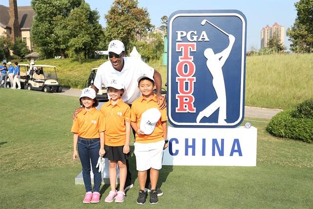 PGAツアーチャイナ 2019年の大会ではNBAのスター、ピッペンも姿を見せたPGAツアーチャイナ(VCG/VCG via Getty Images)
