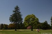 2010年 サイバーエージェントレディスゴルフトーナメント 初日 9番ホール