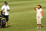 2010年 サイバーエージェントレディスゴルフトーナメント 初日 馬場ゆかり