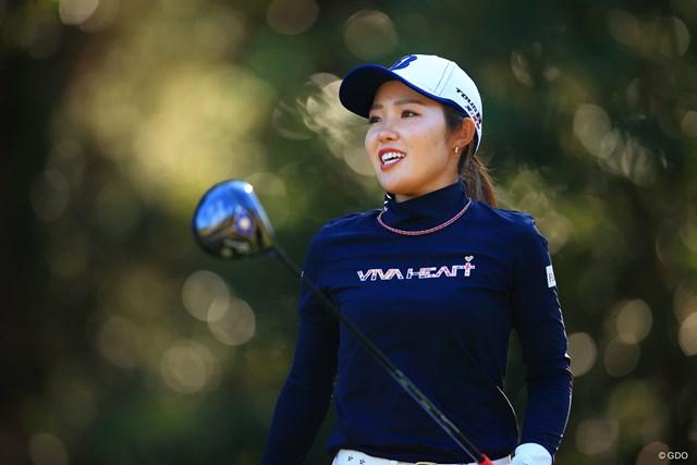 2021年 古江彩佳 オリンピック強化指定選手に選ばれた古江彩佳(写真は2020年LPGAツアーチャンピオンシップリコーカップ)