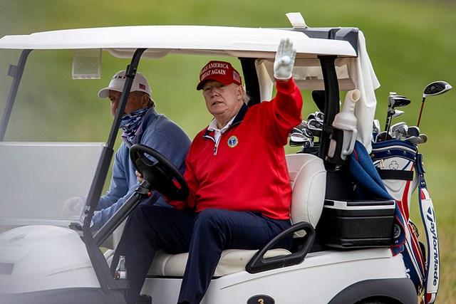 2021年 ドナルド・トランプ大統領 ドナルド・トランプ大統領(写真は2020年11月 Tasos Katopodis/Getty Images)