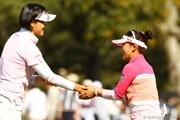 2010年 サイバーエージェントレディスゴルフトーナメント 2日目 有村智恵
