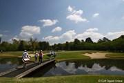 2010年 サイバーエージェント レディスゴルフトーナメント 2日目 4番ショートホール