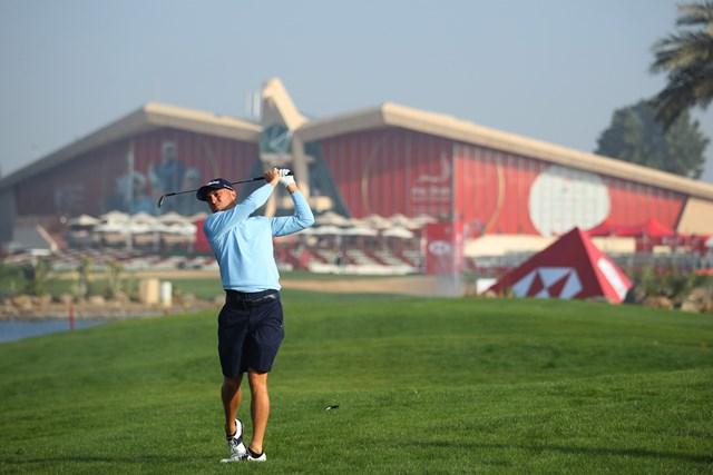 2021年 アブダビHSBCゴルフ選手権 事前 ジャスティン・トーマス トーマスはUAEでの欧州ツアーに出場する(Warren-Little/Getty-Images)