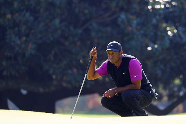 2021年 マスターズ 3日目 タイガー・ウッズ 5度目の手術をしたタイガー・ウッズの復帰は?(提供:Augusta National Golf Club)