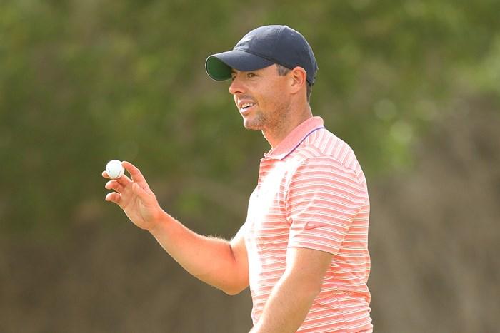 マキロイが単独首位に立った(Warren Little/Getty Images) 2021年 アブダビHSBCゴルフ選手権 3日目 ロリー・マキロイ