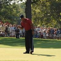 2007年にサザンヒルズCCで行われた「全米プロ」を制したタイガー・ウッズ (Montana Pritchard/The PGA of America via Getty Images) 2007年 全米プロゴルフ選手権 タイガー・ウッズ